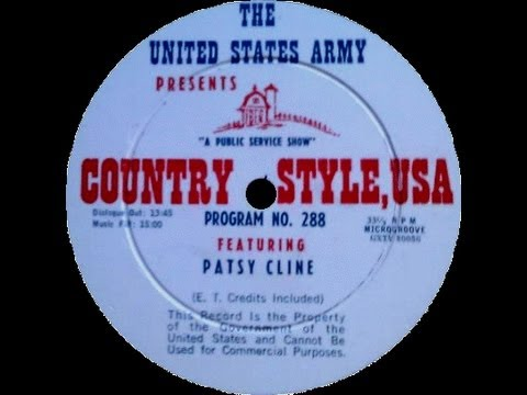 Patsy Cline ~ Country Style USA (September 1960) [Radio]