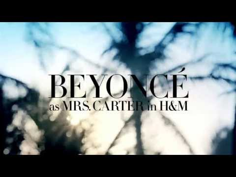 Beyoncé as Mrs. Carter in H&M