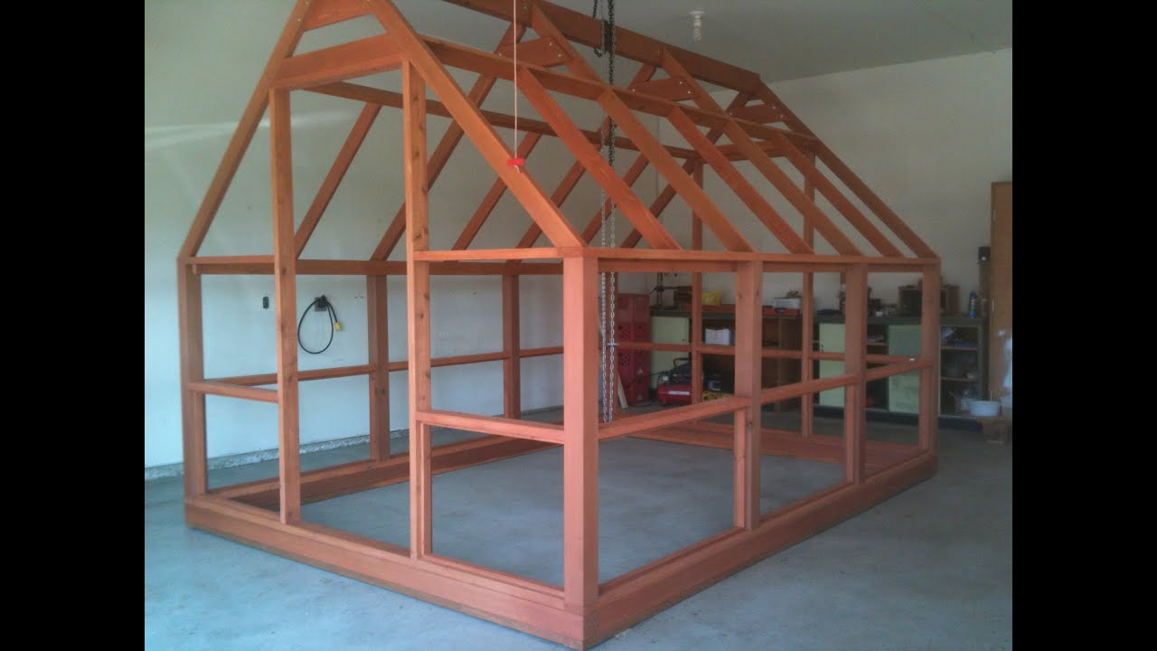 Greenhouse Plans Polycarbonate Covered Cedar Framed