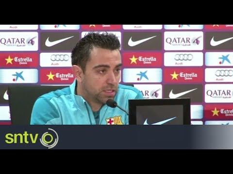 Barcelona's Xavi confident ahead of Atletico Madrid clash