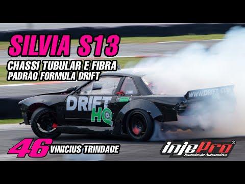 INJEPRO S8000 - Silvia S13 Chassi Tubular e Fibra no Ultimate Drift Brasil - #46 Vinicius Trindade