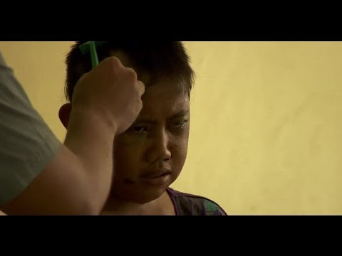 TYPHOON HAIYAN - GIRL TRAPPED SURROUNDED BY HER DEAD FAMILY - BBC NEWS