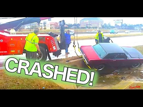 1965 Mustang Crash - Hard hit