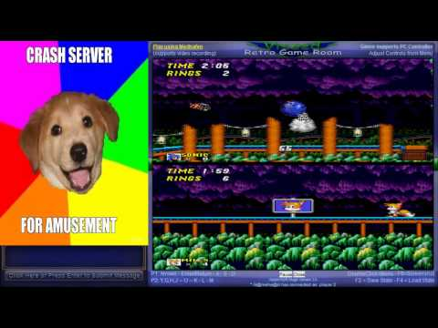 Sonic the Hedgehog 2 - Vizzed Netplay Tournament - mvhupsel VS G@mehe@d - User video