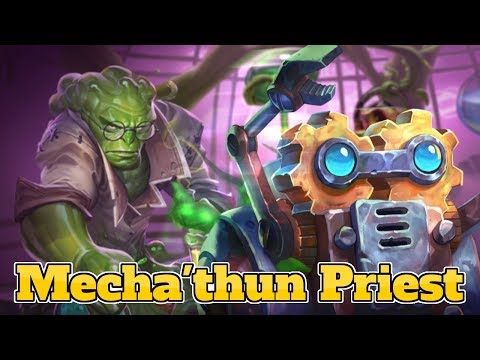 [Legend] Mecha'thun Priest The Boomsday Project Hearthstone Guide How To Play