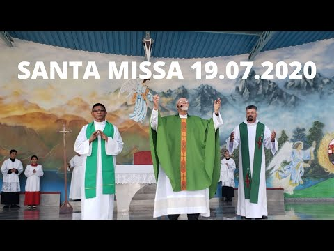 Santa Missa | 19.07.2020 | Domingo | Padre José Sometti | ANSPAZ