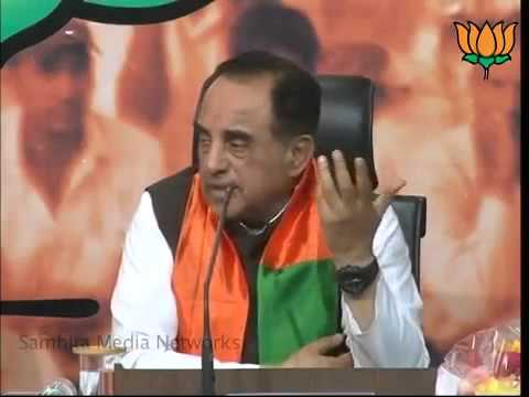 Dr Subramanian Swamy talks about Indian economy in mess and challenges of new government