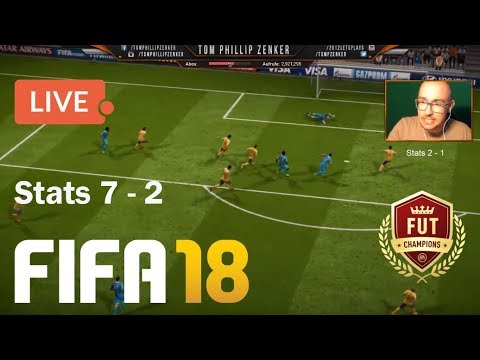 🔴 FIFA 18 Livestream Weekend League 🏆FUT Champions LIVE - Ultimate Team [HD] Tom Phillip Zenker
