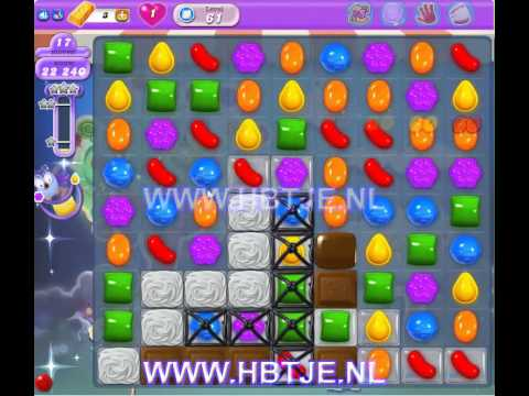 Candy Crush Saga Dreamworld level 61