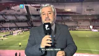 El análisis de Alejandro Fabbri. River 1 - Olimpo 1. Fecha 16. Primera División 2014. FPT