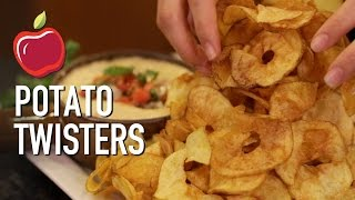DIY Potato Twisters / Ribbon Fries