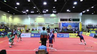 Sepak Takraw Prince Cup 2014 Semi Final (2nd & 3rd Regu