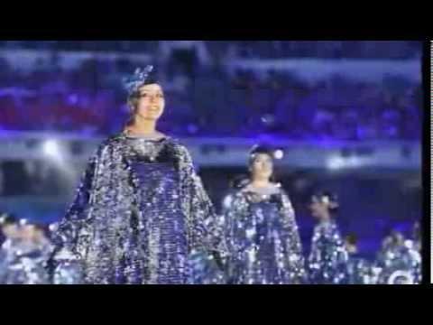 Sochi Winter Olympics 2014 Closing Ceremony fireworks show