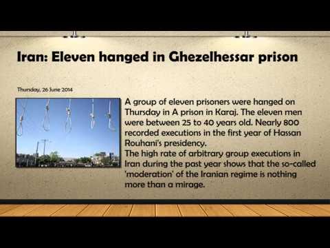 Eleven hanged in Ghezelhessar prison