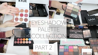 Makeup Collection + Storage | Eyeshadow Palettes- PART 2
