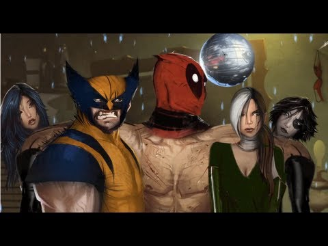 Deadpool: The Game - Meeting Mr Sinister, Wolverine, Domino, Psylocke