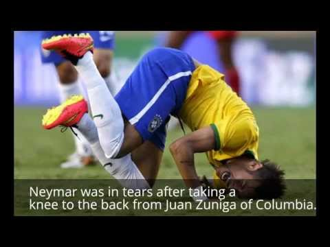 Brazilian Doctor Conforms Neymar out of World Cup 2014