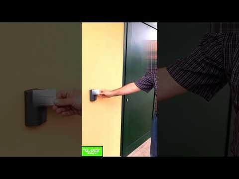 Controllo accessi Sac844 Anviz e testina rfid per esterno