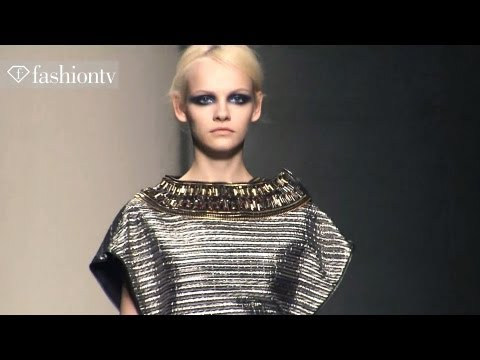Gianfranco Ferre Fall/Winter 2012/13 - Full Show | Milan Fashion Week MFW | FashionTV, SUBSCRIBE: http://bit.ly/FashionTVSUB http://www.FashionTV.com/videos MILAN - Designers Stefano Citron and Federico Piaggi at Gianfranco Ferre have a new, fr...