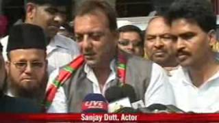 Sanjay Dutt Courting The Muslim Vote