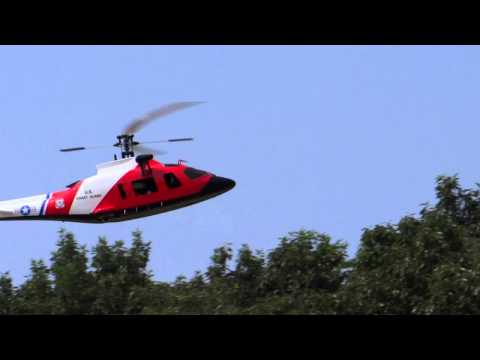Agusta A109E RC Heli 450size Flight test