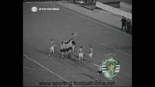 Sporting - 5 x Manchester United - 0 de 1963/1964 Taça das Taças