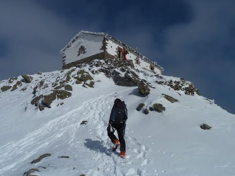 Ascensión y descenso con esquís de Mendaur y Mendieder