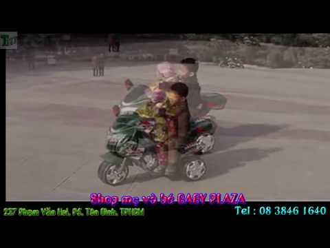 Bé lái xe máy điện trẻ em 918 - BABY PLAZA