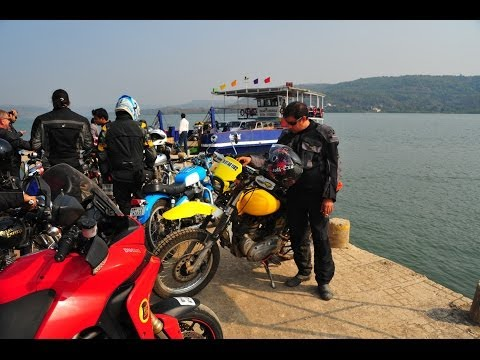 Riding the Coastal Road from Mumbai to Goa for the India Bike Week - On the Ducati Multistrada