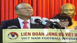 Park Hang Seo quyết tâm đưa Việt Nam lên top 100 thế giới