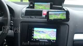 Sygic GPS-Test With Xiaomi Phones And Parrot Radio