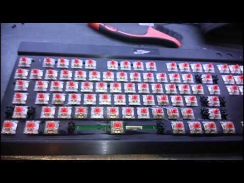 Corsair K70 RGB Keyboard Repair (Spilled Drink)