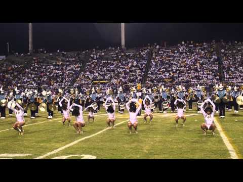Dancing Dolls Halftime Performance Homecoming 2012