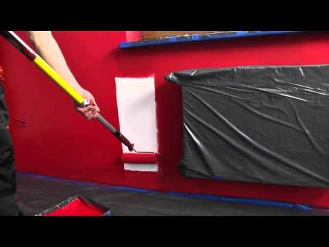 Śnieżka - część 3. Śnieżka Barwy Natury - film instruktażowy malowanie ścian farbą lateksową