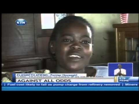 A freedom song from Bondo: Housegirl scores a B+ in KCSE examinations