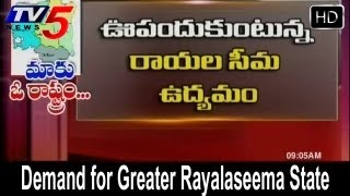 Greater Rayalaseema State Agitation Gains Pace