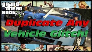 GTA 5 How To Duplicate Custom Cars, Planes, Tanks