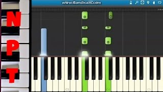 How To Play All Of Me On Piano John Legend Synthesia