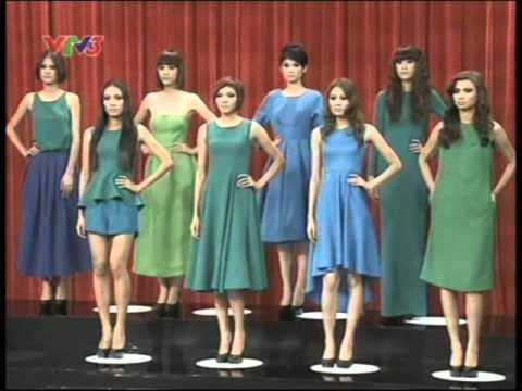 Viet nam next top model 2012 - Tập 10 (full) - Độ gợi cảm của trang phục