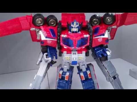 Transformers CYBERTRON LEADER OPTIMUS PRIME