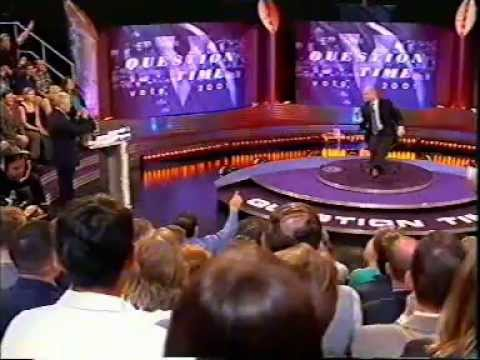 "William Hague ""Challenge the Leader"" Question Time 23/5/01"