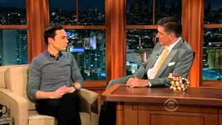 Video: Jim Parsons - Craig Ferguson (2012)