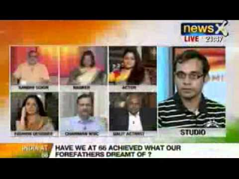NewsX Debate: Has the Indian democracy truly matured as the nation turns 67?