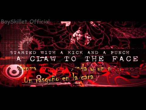 Three Days Grace - Human Race [Lyrics Video) (Subtitulado En Español)