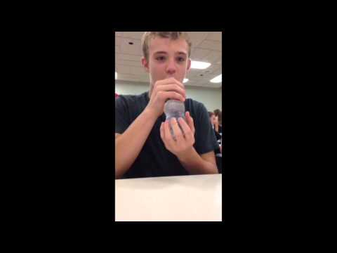 1.6 second water bottle chug