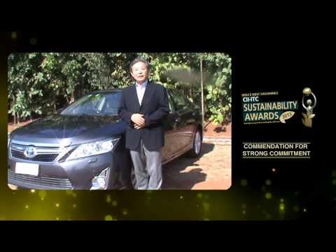 India's Most Sustainable - Toyota Kirloskar Motor Pvt Ltd