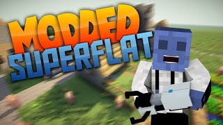 Minecraft Superflat: MODDED HYPE! Ep. 1 (Modded Superflat)