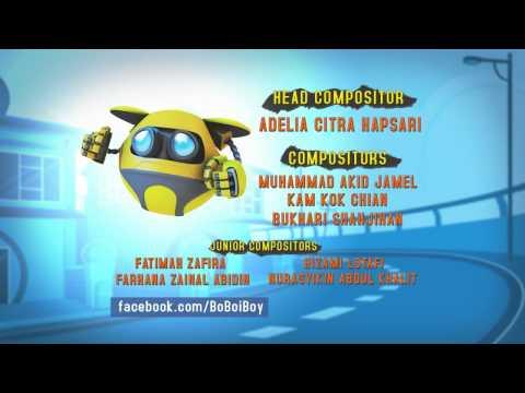 BoBoiBoy Ending Credits