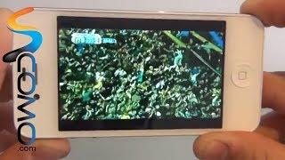Como ver televisión desde Iphone 4 o 4S