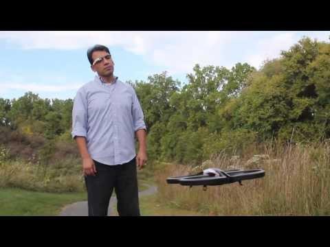 Google Glass ARDrone Commander Trailer